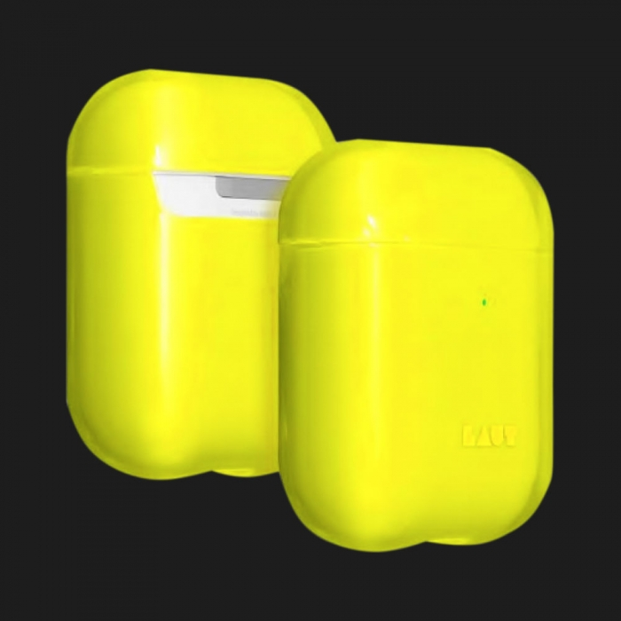 Чохол Laut Crystal X for AirPods (Acid Yellow)
