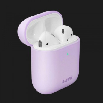 Чохол Laut HUEX PASTELS for AirPods (Violet)