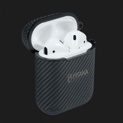 Чохол Pitaka AirPal Mini для Airpods (Black)
