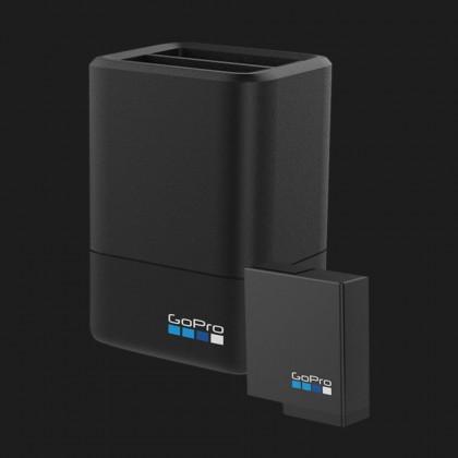 Зарядное устройство GoPro Dual Battery Charger с батареей для GoPro Hero 7, Hero 6 и Hero 5 (AADBD-001-RU)