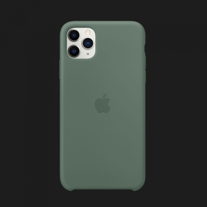 iPhone 11 Pro Max Silicone Case-Pine Green (Original Assembly)