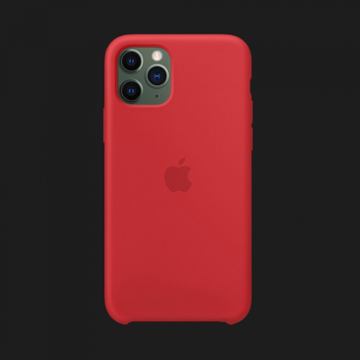 iPhone 11 Pro Max Silicone Case-Red (Original Assembly)