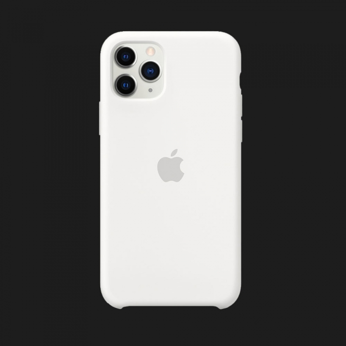 Оригінальний iPhone 11 Pro Max Silicone Case  (White)