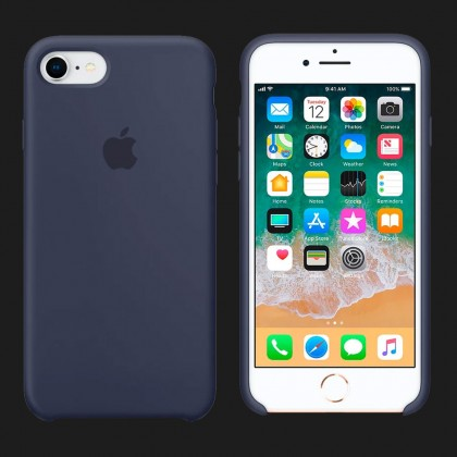 Silicone Case for iPhone 8 / 7 Silicone Case — Midnight Blue (Original Assembly)