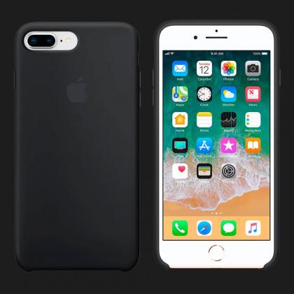 Silicone Case для  iPhone 8 Plus / 7 Plus Silicone Case — Black (Original Assembly)
