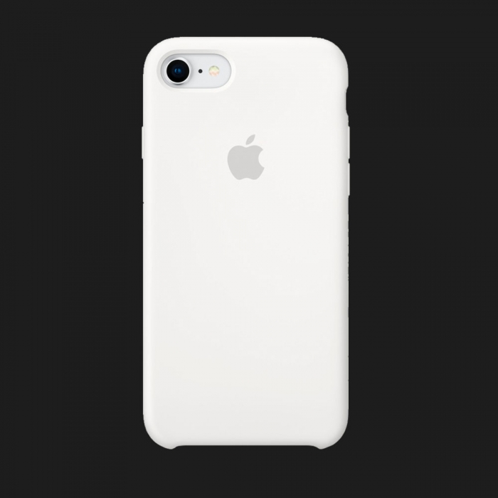 Оригінальний iPhone 8 / 7 Silicone Case — White