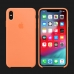 iPhone XS Max Silicone Case — Papaya (Original Assembly)