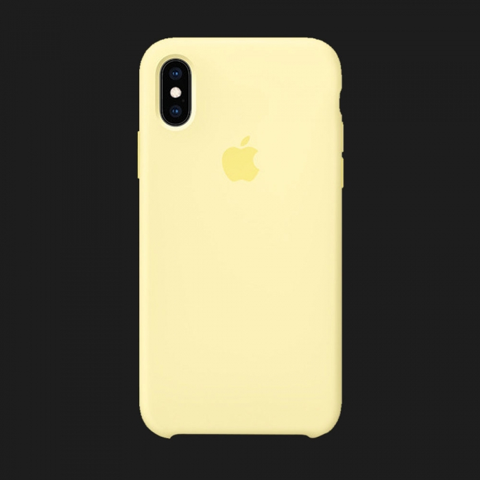 iPhone XS Max Silicone Case — Mellow Yellow (Original Assembly)