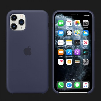 iPhone 11 Pro Silicone Case-Midnight Blue (Original Assembly)