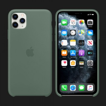 iPhone 11 Pro Silicone Case-Pine Green (Original Assembly)
