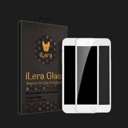 Захисне скло iLera для iPhone 7 / 8 (White)