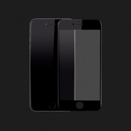 Захисне скло 3D для iPhone 7 Plus / 8 Plus (Black)