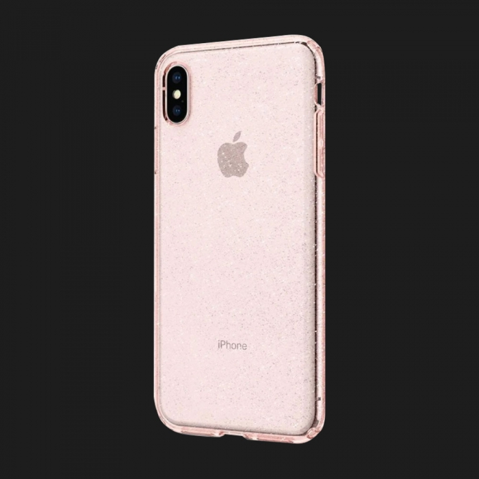 Чохол Spigen iPhone XS MAX Glitter (Rose)