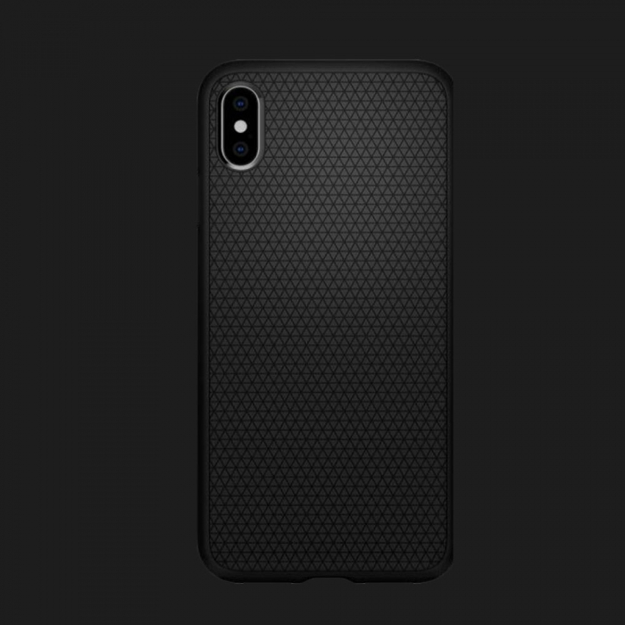 Чохол Spigen iPhone XS MAX Liquid Air (Black)