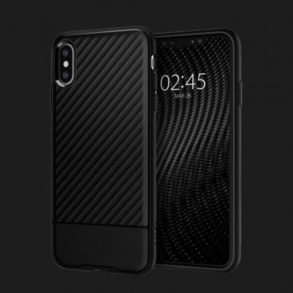 Чохол Spigen iPhone XS/X Core Armor (Black)