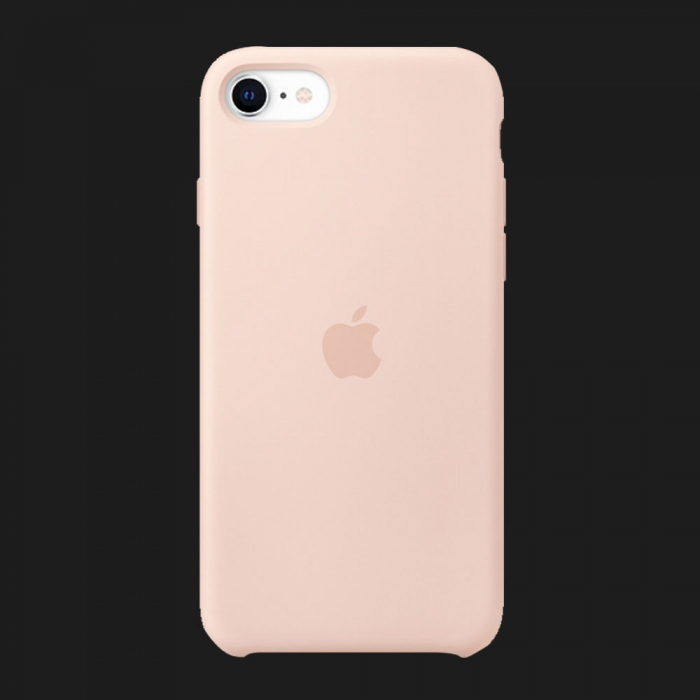 Чохол для iPhone SE Silicone Case Original Assembly (Pink Sand)