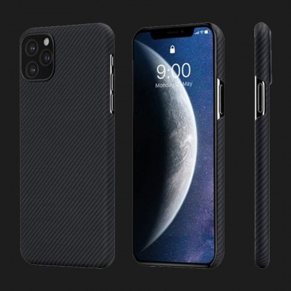 Pitaka Air Case for iPhone 11 Pro (Black / Grey)