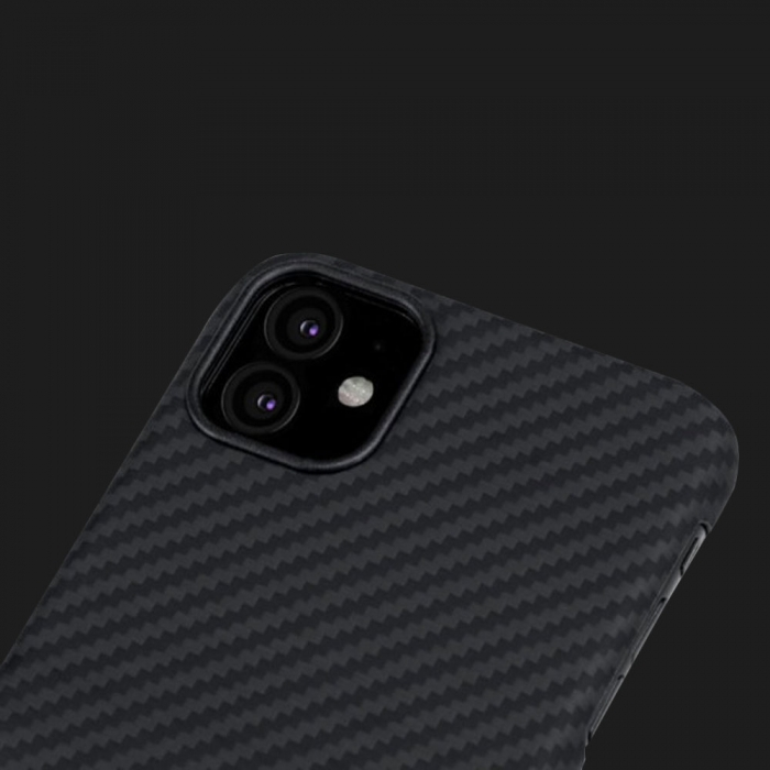 Pitaka MagCase for iPhone 11 (Black / Grey)
