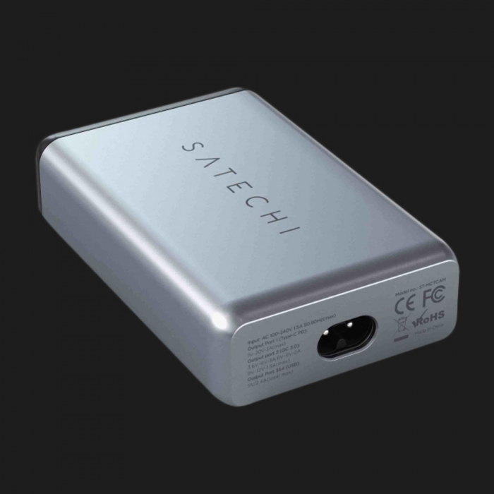 Зарядний пристрій Satechi USB-C 75W Travel Charger Space Gray (ST-MCTCAM)