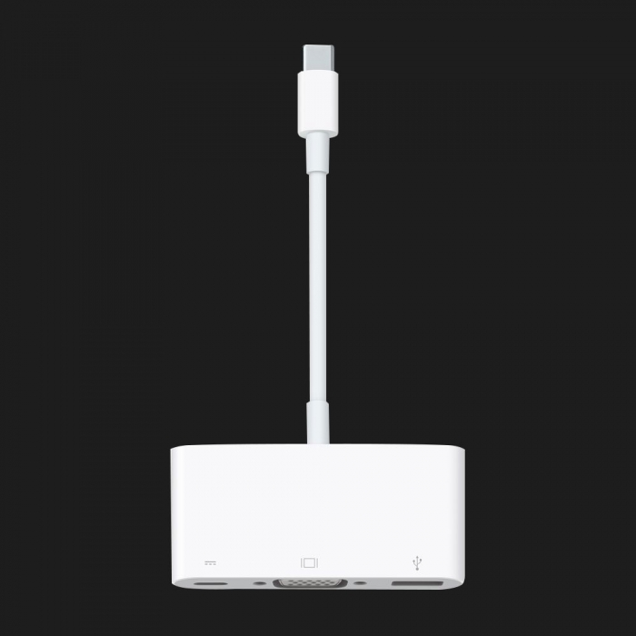 Оригінальний Apple USB-C to VGA Multiport Adapter (MJ1L2)