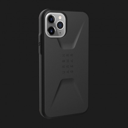 Чохол UAG Civilian (Black) для iPhone 11 Pro