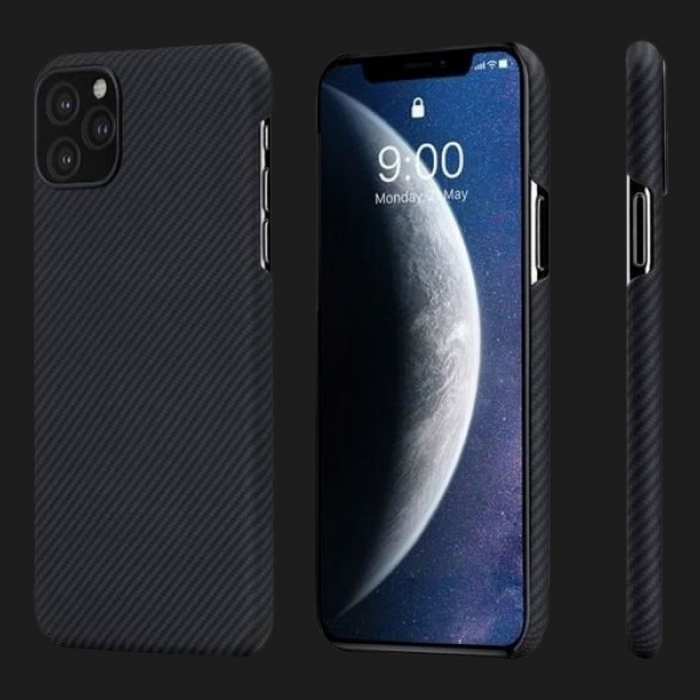 Pitaka Air Case for iPhone 11 Pro Max (Black / Grey)