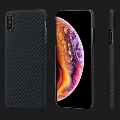 Pitaka MagEZ для iPhone X / XS (Black / Grey)