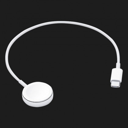 Зарядний пристрій Apple Watch Magnetic Charger to USB-C Cable (0.3 m) (MU9K2)