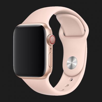 Оригінальний спортивний ремінець для Apple Watch 44mm Pink Sand Sport Band - S/M & M/L (MNJ92 / MTPM2)