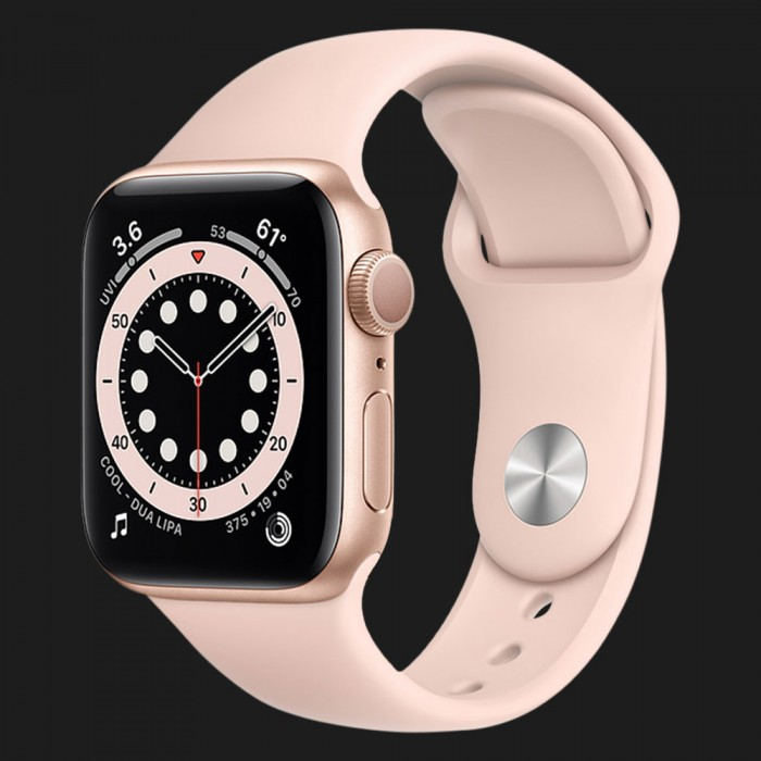 Apple Watch Series SE 44mm Gold with Pink Sand Sport Band (MYDR2)