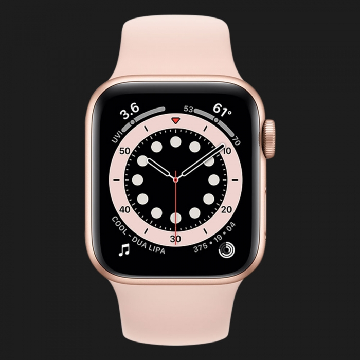 Apple Watch Series SE 40mm Gold with Pink Sand Sport Band (MYDN2)
