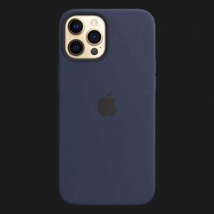 iPhone 12 Pro Silicone Case with MagSafe - Deep Navy