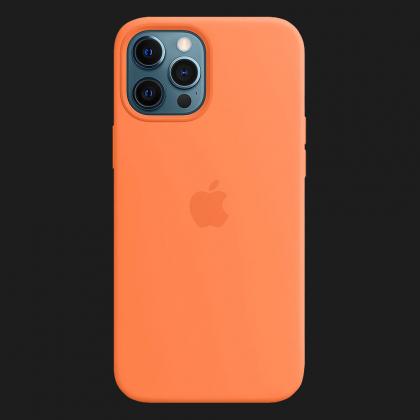 iPhone 12 Pro Silicone Case with MagSafe - Kumquat