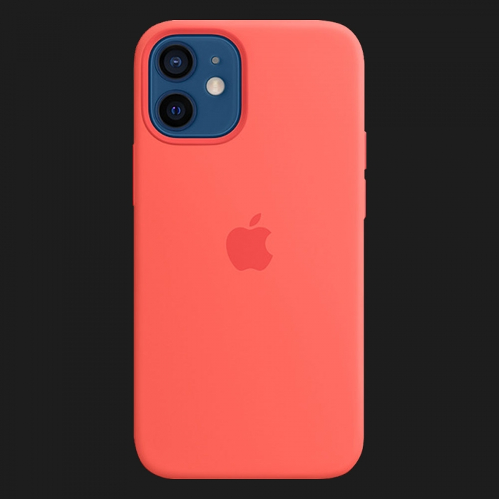 iPhone 12 Silicone Case — Pink Citrus (Original Assembly)