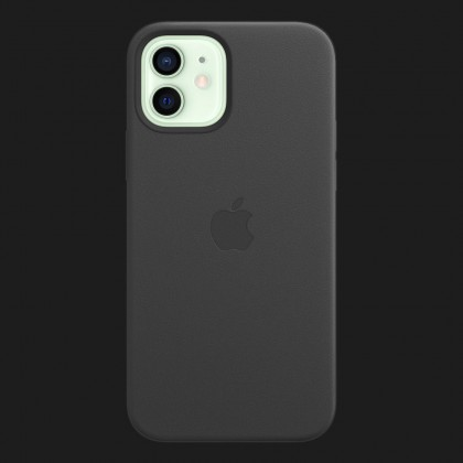 iPhone 12 mini Silicone Case with MagSafe — Black