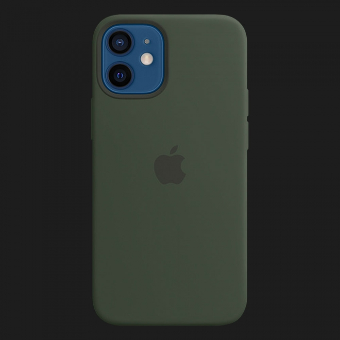 iPhone 12 mini Silicone Case — Cyprus Green (Original Assembly)