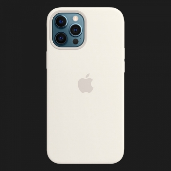 iPhone 12 Pro Max Silicone Case — White (Original Assembly)