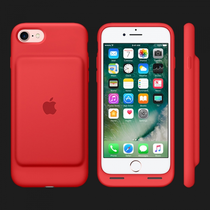 Apple Smart Battery Case для iPhone 7 / 8 — (PRODUCT)Red