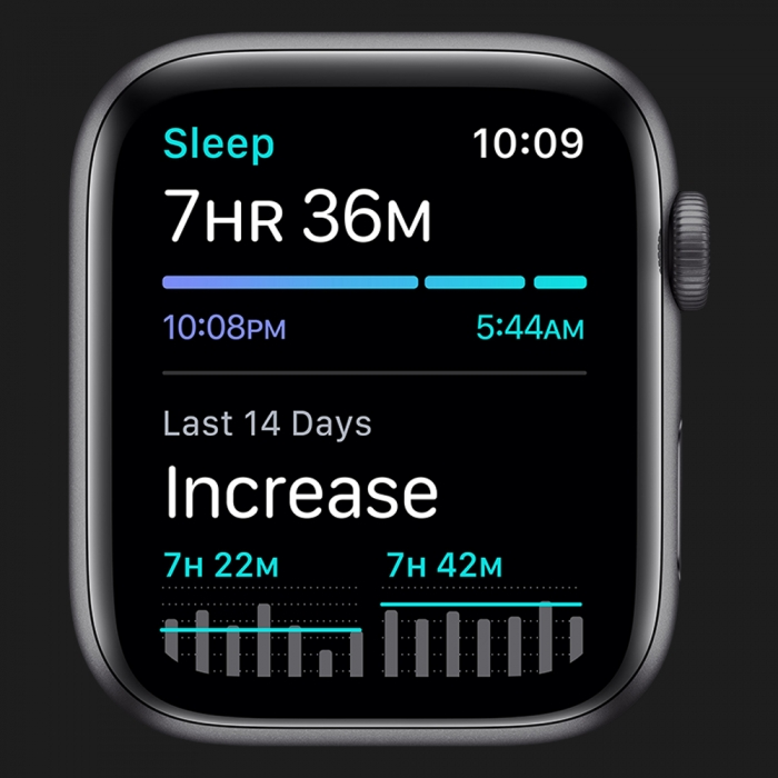 Apple Watch Series SE 40mm Space Gray with Black Sport Band (MYDP2)