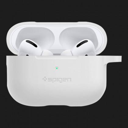 Чохол Spigen Silicone Fit для AirPods Pro (White)