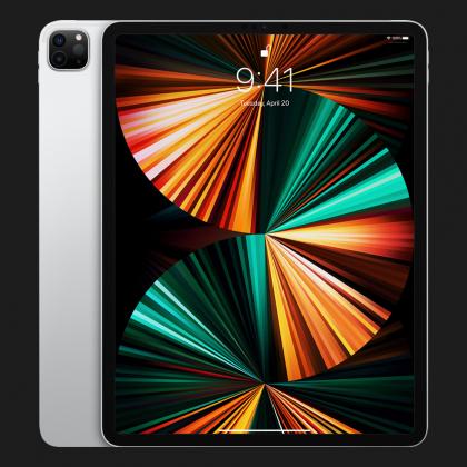 Планшет Apple iPad Pro 12.9 2021, 256GB, Silver, Wi-Fi + LTE (MHR73)