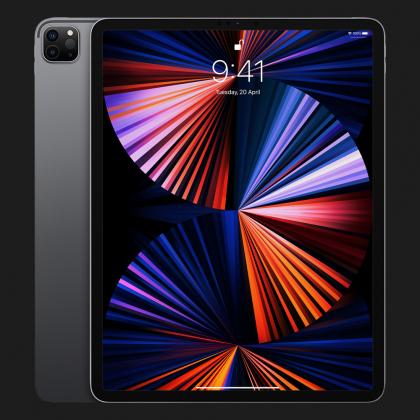 Планшет Apple iPad Pro 12.9 2021, 128GB, Space Gray, Wi-Fi + LTE (MHR43)