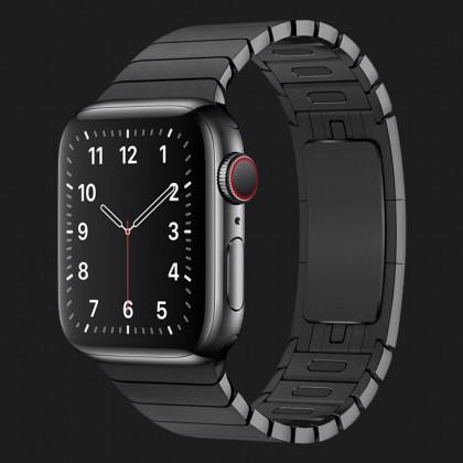 Оригінальний ремінець для Apple Watch 38/40 mm Link Bracelet (Space Black) (MUHK2)