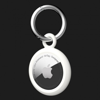 Брелок UAG [U] Dot Keychain для Apple AirTag (Marshmallow)
