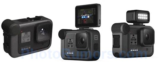 Рендеринговое изображение экшн-камеры GoPro Hero 8 появилось на сайте Photo Rumors