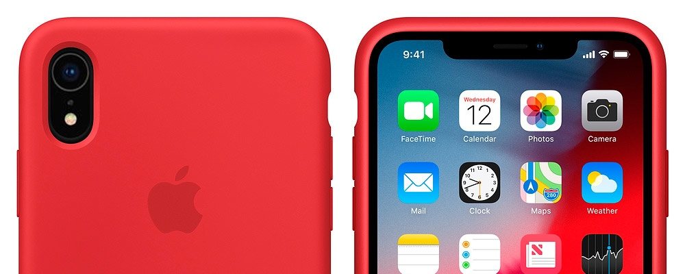 "Результат пошуку зображень за запитом ""Silicone Case для iPhone XR - red"""